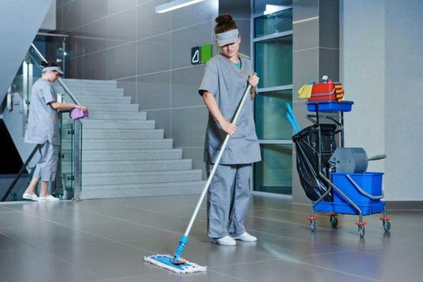 Примеры уборки в производственных помещениях